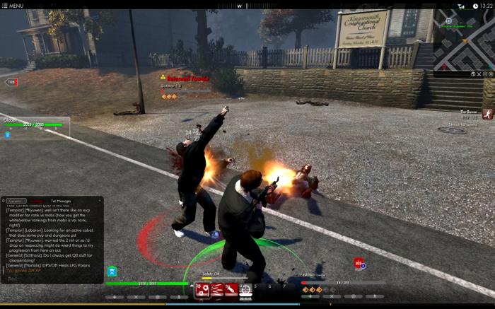 Boom, ricochet! Killing zombies is a blast.