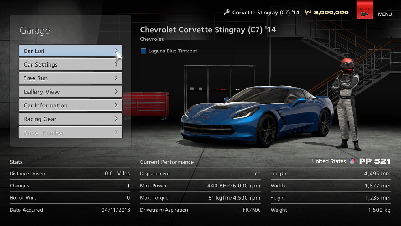 gran turismo 6 fact sheet the review depot. Black Bedroom Furniture Sets. Home Design Ideas